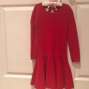 GAP Red sweater dress